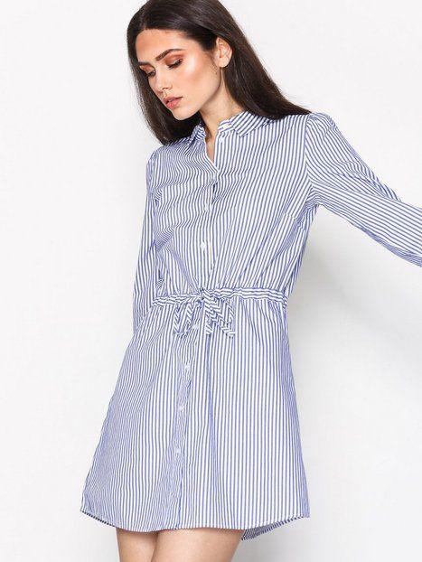 JDYLUCKY L/S SHIRT DRESS WVN