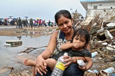 WFP Food Reaches Typhoon Survivors In Philippines