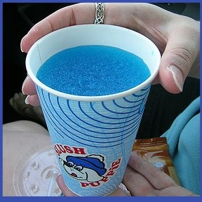 Slush Puppy! We use to have these down at the little league all the time! I miss them.