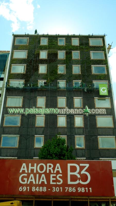 Jardin Vertical construccion Ignacio Solano Hotel B3