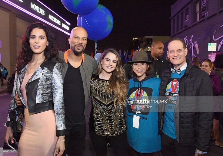 TV personality Carmen Carrera, rapper Common, singer-songwriter JoJo, actress Rosie Perez and AHF president Michael Weinstein take part in AIDS Healthcare Foundations Keep the Promise March in Hollywood, CA on November 30, 2016. Thousands marched down historic Hollywood Boulevard on the eve of World AIDS Day to raise awareness about HIV/AIDS and to persuade key decision makers in the US and around the globe to keep the promise and commit more funds to HIV/AIDS prevention, care and treatment…