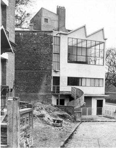 le corbusier, maison ozenfant (1922) @ wikiarquitectura, @ weareprivate