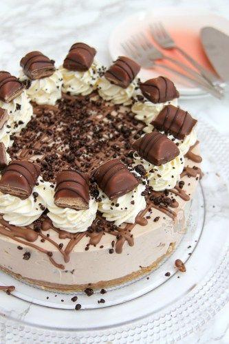 No-Bake Kinder bueno cheesecake www.janespatisserie.com