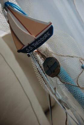 Fishing Boat Christening Set - $40.00 at Greek Wedding Shop ~ http://www.greekweddingshop.com