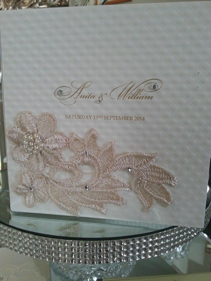 Handmade Hardcover Invitation exclusively designed by Va
