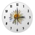 Daisy Wall Clock - April Birth Flower Gifts! - #aprilbirthday #daisygifts