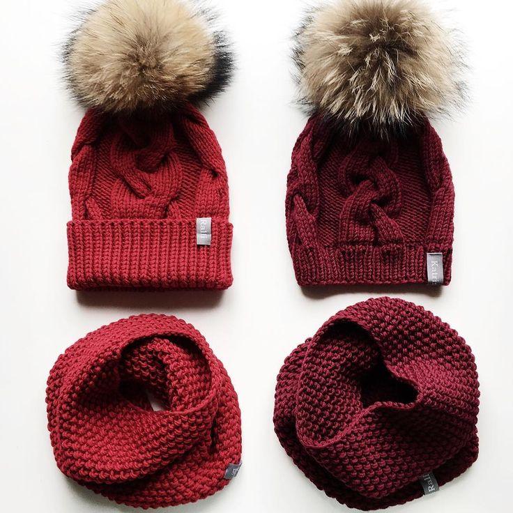 Два разных заказа ❤️ На фото модель шапочки с отворотом и без. Заказы временно не принимаю ❗️❗️❗️