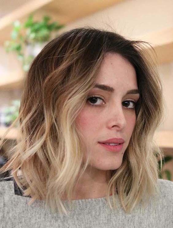 32 Best Short Blonde Textured Ombre Hairstyles In 2018 Short
