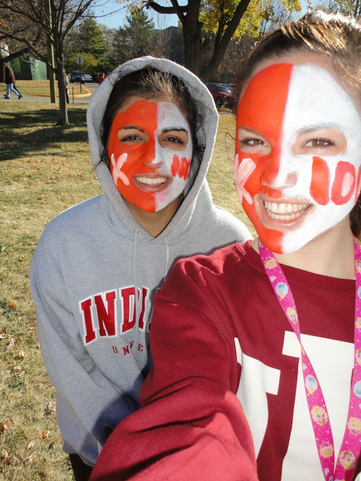 54 best images about face paint for game days on Pinterest ...