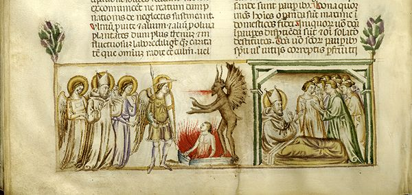 Vitae patrum, MS M.626 fol. 125v - Images from Medieval and Renaissance Manuscripts - The Morgan Library & Museum
