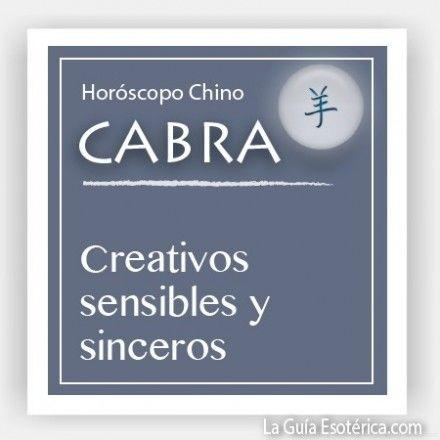 Horóscopo Chino Cabra (Pulsa en la imagen para ver lo que te depara el 2014)