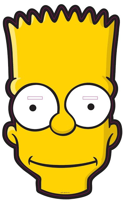 Free Bart Simpson Mask