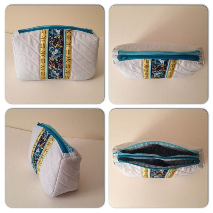 Sew Sweetness Filigree Double-Zip Pouch, sewn by Tiffany