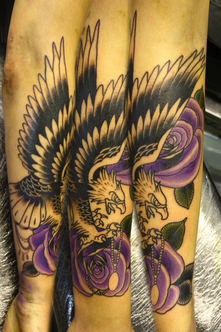 eagle tattoo awsome tattoo designs pinterest. Black Bedroom Furniture Sets. Home Design Ideas