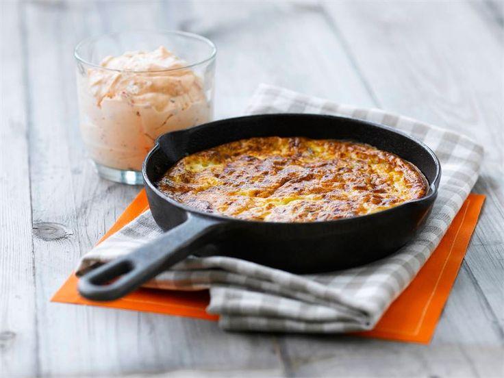 Voit valmistaa pannarin joko isossa valurautapannussa, uunivuoassa uunissa tai paistokasarissa liedellä.