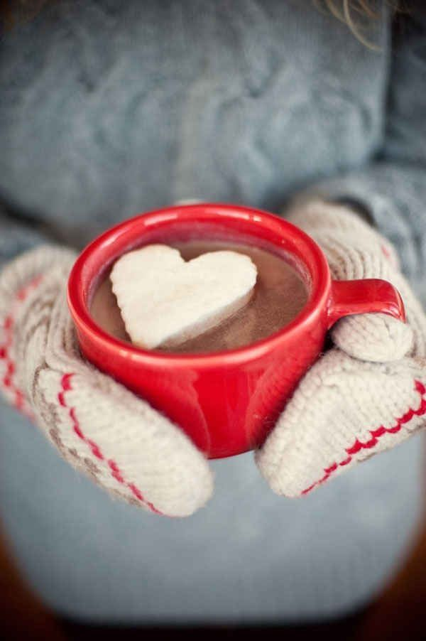 Line a baking pan with marshmallow fluff and freeze, then cut into desired shapes and drop into your mug of hot chocolate :)
