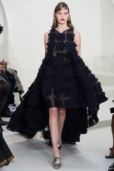 Check out Raf Simons' latest Ready-To-Wear collection for Christian Dior Fall 2014!