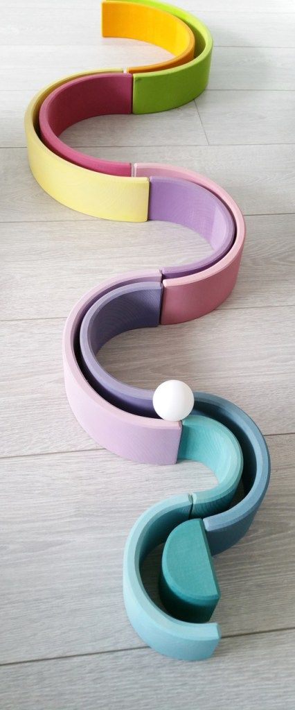 Grimms - pastel rainbow stacker - Kids Gifts and Toys