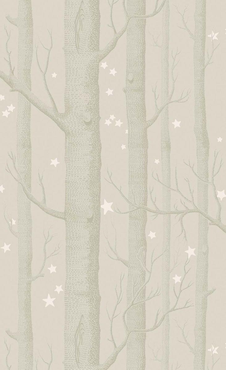Papier peint Woods and Stars