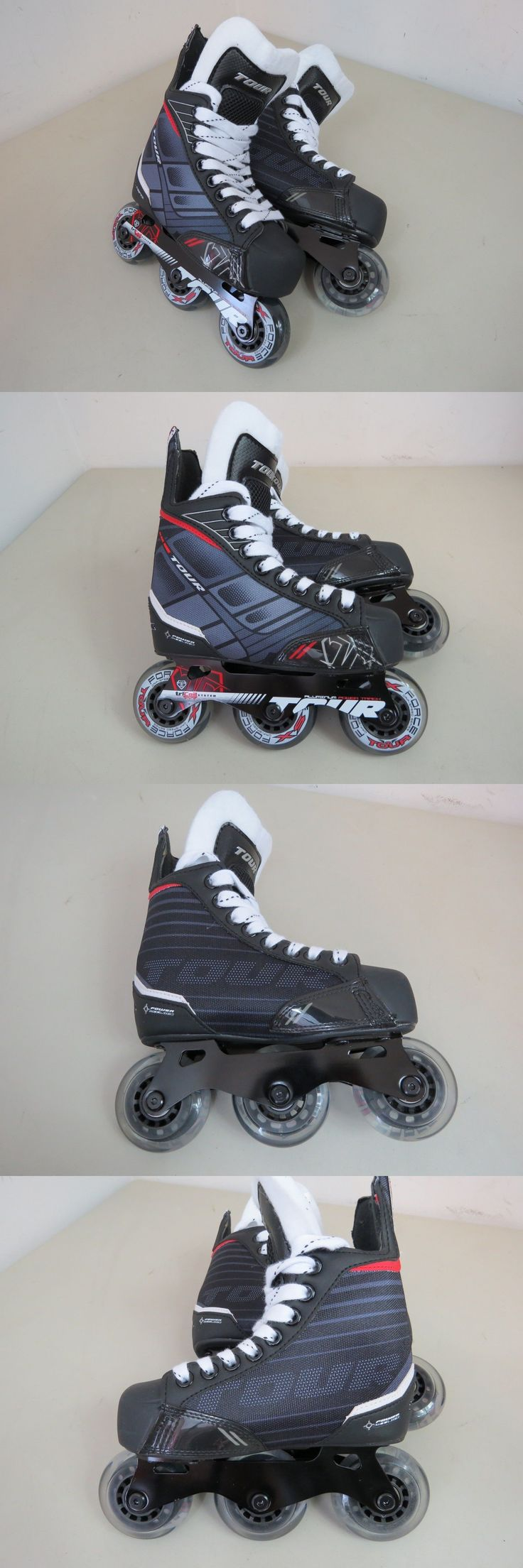 Roller Hockey 64669: Tour Hockey Fb-225 Junior Roller Hockey Skates, Size 12J Youth - New Without Box -> BUY IT NOW ONLY: $40 on eBay!