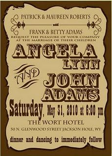 Amazing Image Detail For  Country Style Wedding Invitations | Wedding Invitations    I Like The Fonts
