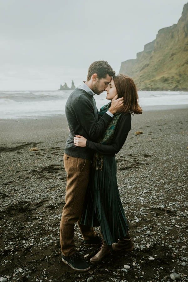 Adventurous Iceland engagement from M2 Photography