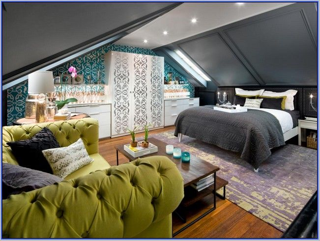 17 Best images about Attic Ideas – Attic Master Bedroom