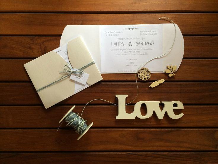 Invitaciones para matrimonio· elegantes · sobrias · toques de plateado · personalización y diseño de tarjetas