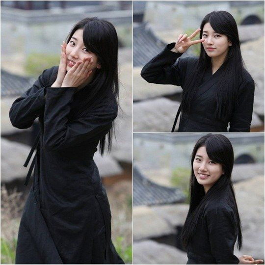 "Suzy Looks Adorable in ""Gu Family Book"" BTS Pics 