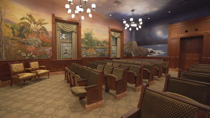 Provo City Center Temple Instruction Room
