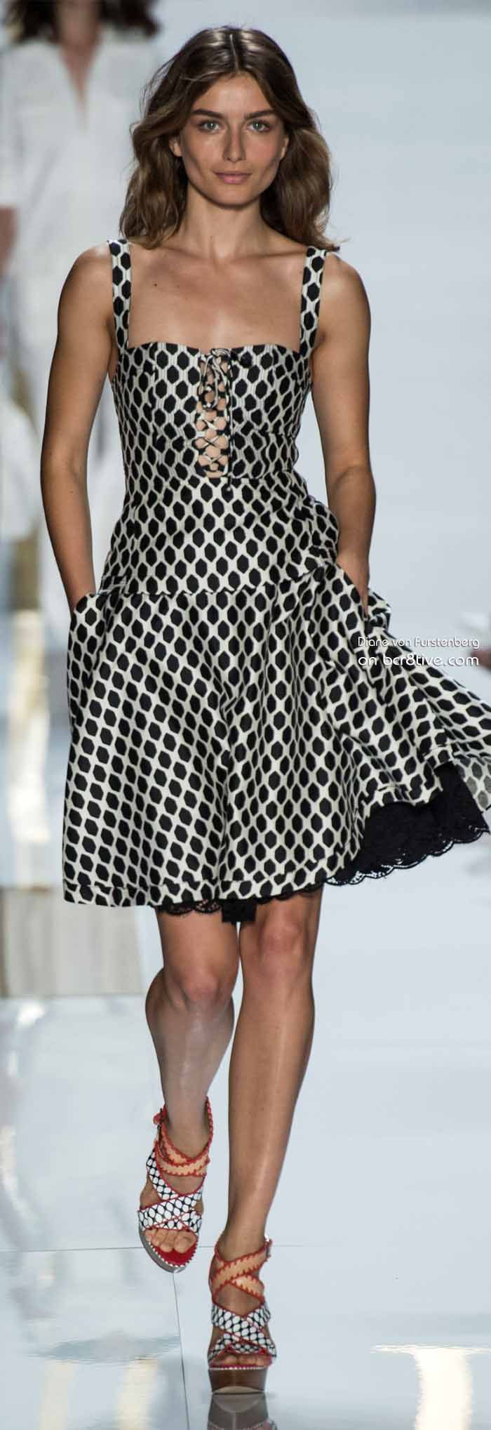 Diane von Furstenberg Spring 2014 New York Fashion Week » #NYFW