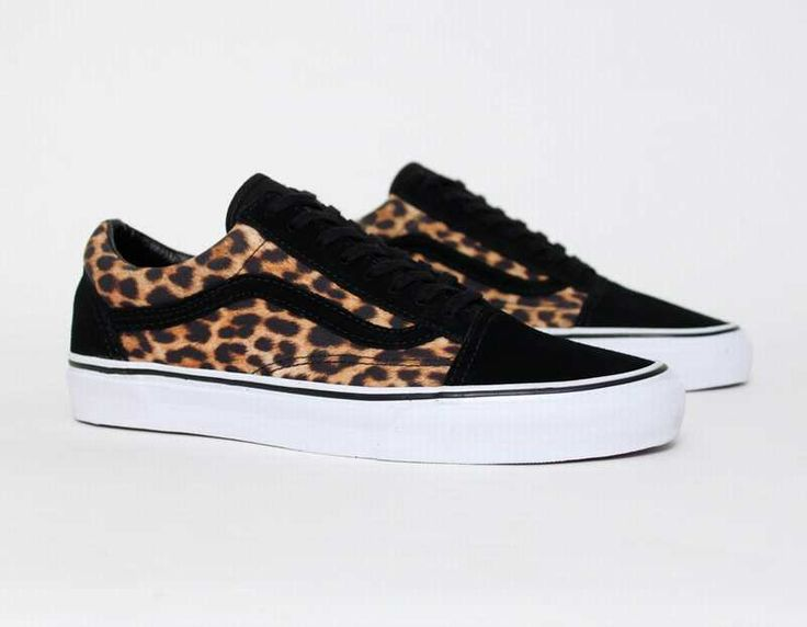 zapatillas vans old skool suede leopard sneakers. Black Bedroom Furniture Sets. Home Design Ideas