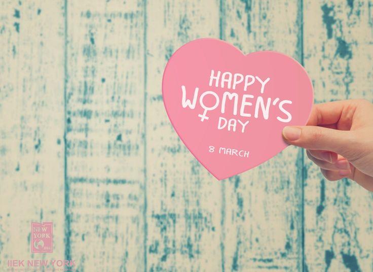 Καλημέρα! Σήμερα τιμούμε και στηρίζουμε την Παγκόσμια Ημέρα της Γυναίκας! Χρόνια Πολλά σε όλες σας! #womens_day #iny #ieknewyork