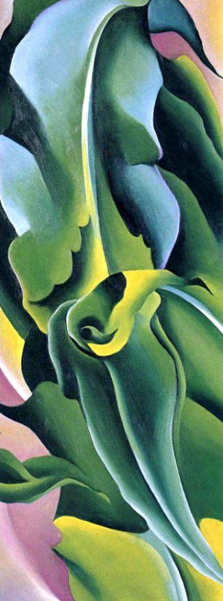 Georgia O'Keeffe. Corn 2.