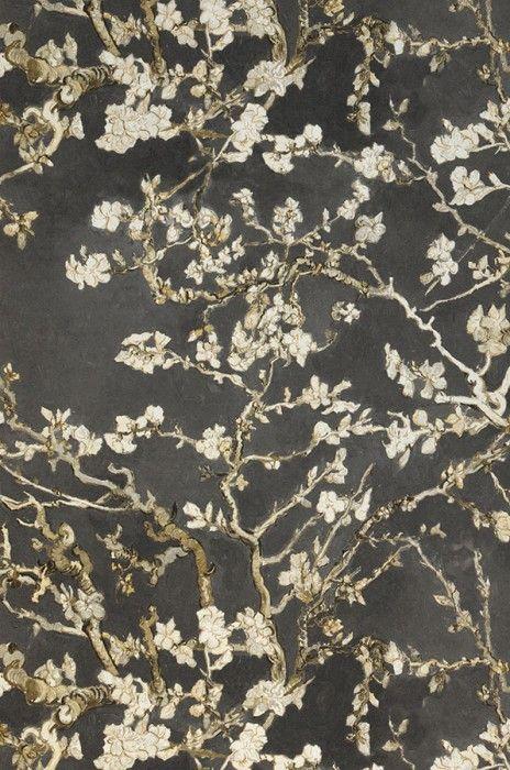 VanGogh Blossom | Floral wallpaper | Wallpaper patterns | Wallpaper from the 70s