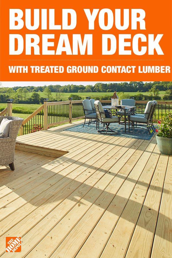 Build Your Dream Deck Diy Backyard Patio Dream Deck Deck