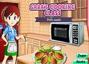 juegos de cocina de sara pollo asado