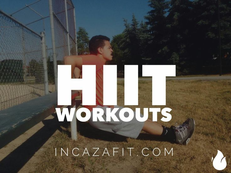 One of the main things inside IncazaFit Membership is our ridiculously good HIIT workouts. Not only are they short but boy are they intense... Get the best bang for your buck, sign up today (FREE for now)