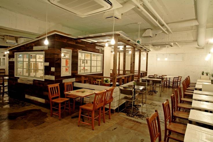 A to Z cafe at Aoyama,Japan