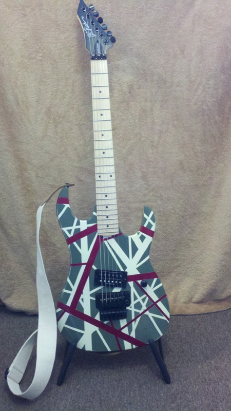 Custom Painted BC Rich Gunslinger