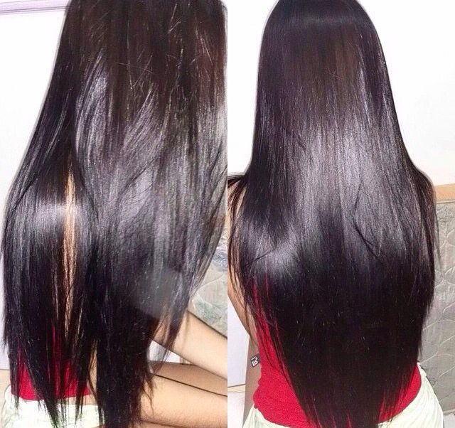 Pretty black hair