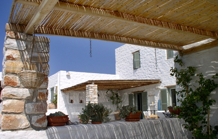Paros Greece. Private Residence.   Oh God blessed summer I think I can hear the drills!