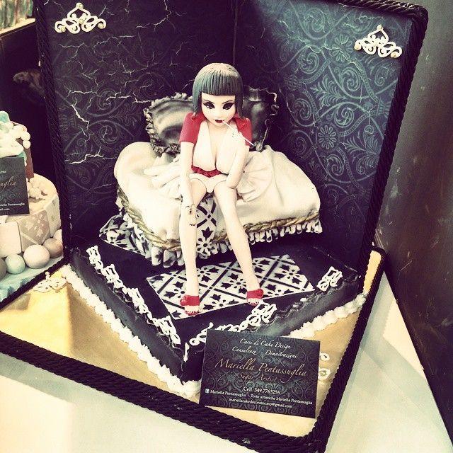 #Sexy cake on competition Enrico CE @enricoce Instagram photos | Websta