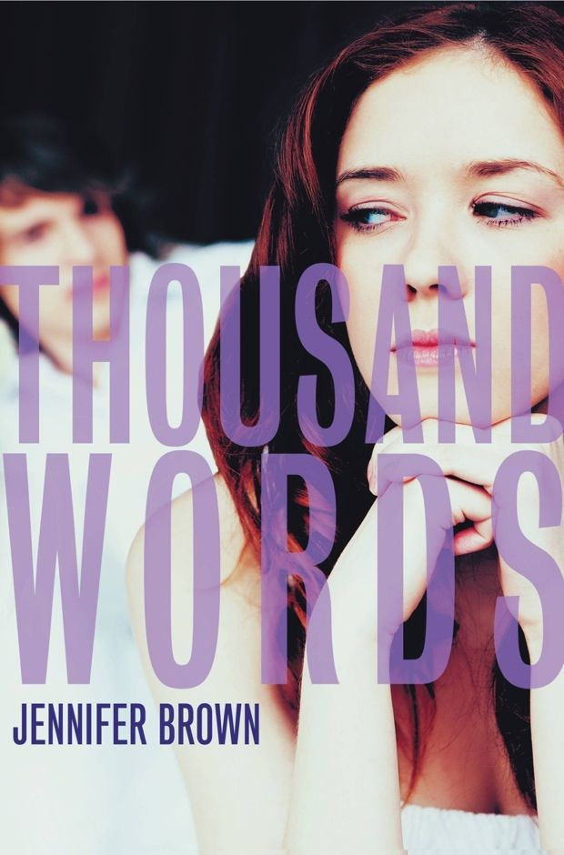 Thousand Words | Jennifer Brown | Book Review - a young adult book about the consequences of sexting