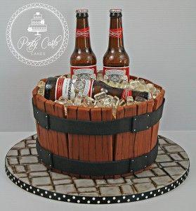 1000 ideias sobre Budweiser Cake no Pinterest  Bolos De Cerveja ...