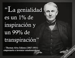 Thomas Alva Edison (1847-1931)  Un gran maestro, me inspira siempre.Lo describo en tres palabras: Perseverante, persistente y constante. Creía en él y en sus sueños y hacía todo para lograrlos. Edison superaba los obstáculos y trascendía cualquier límite.                  Heiddy Sulbarán. Life Coach