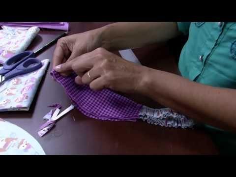 08/05/2015 – Touca de cozinheiro em tecido – Edileny Gomes | RS21