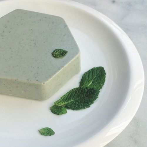 Handmade French Clay Shave Soap with Pine Oil and Lime Zest | [hand-meyd]