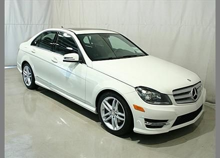 C300 4matic. Mercedes Benz. Gotta be in White. Any other color is unacceptable. (:
