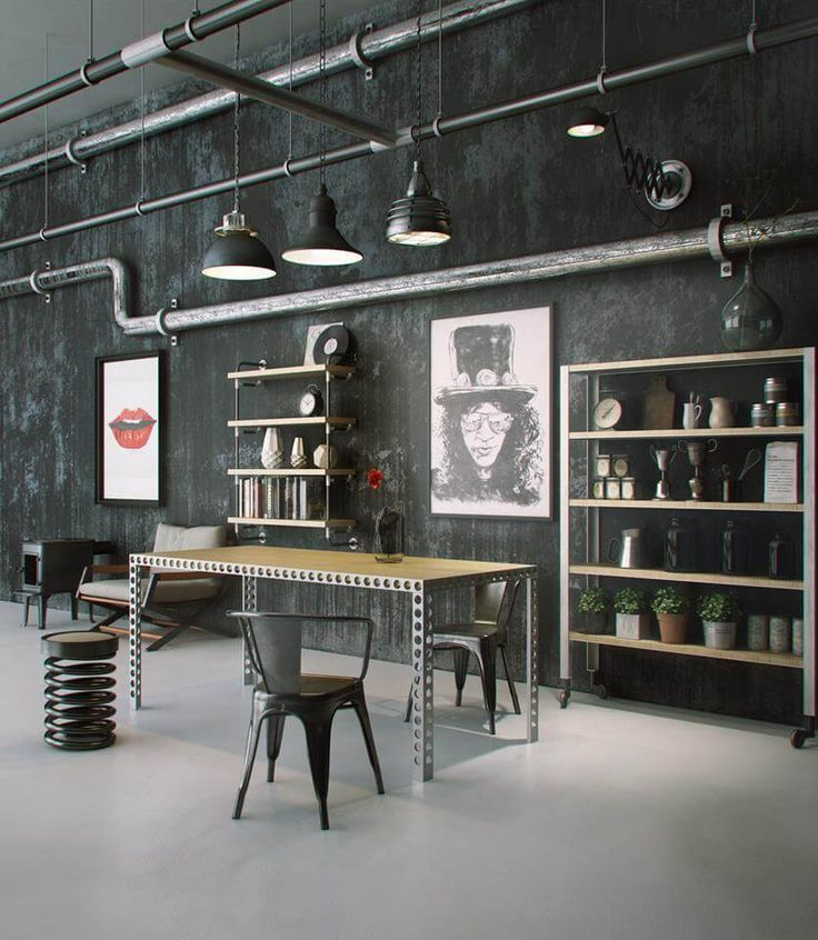 11 Flawless Examples Of Industrial Home Design